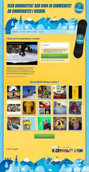 Chiquita, Bananefekt, tävling